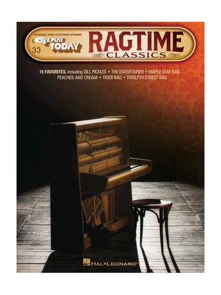 E-Z Play Today 33: Ragtime Classics