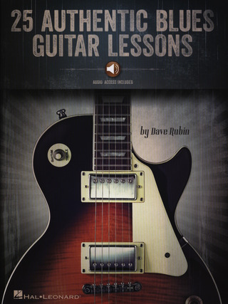 Dave Rubin: 25 Authentic Blues Guitar Lessons