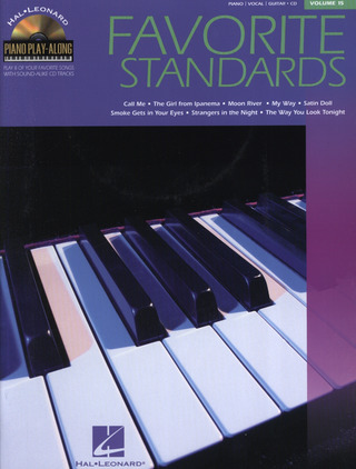 Ppa Volume 15 Favorite Standards Book/Cd