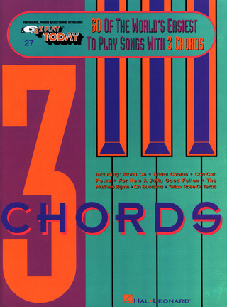 60 of the World's Easiest to Play Songs with 3 Chords