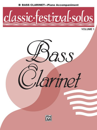 Classic Festival Solos 1 – Piano Accompaniment