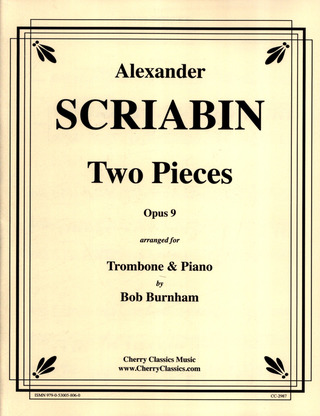 Alexander Skrjabin: Two Pieces op. 9