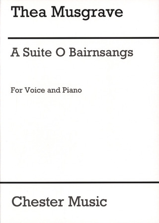 Thea Musgrave: MUSGRAVE A Suite O Bairnsangs (Lindsay) High Voice/Pf (sc, e)