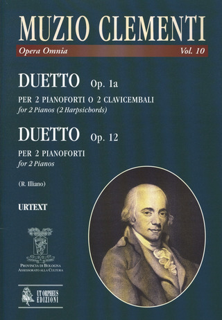 Muzio Clementi: Duet op. 1a for 2 Pianos or 2 Harpsichords. Duetto op. 12 for 2 Pianos