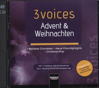3 voices – Advent & Weihnachten (CDs)