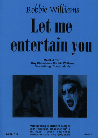 Robbie Williams: Let Me Entertain You