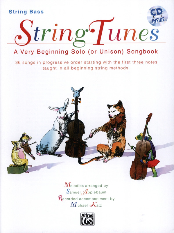 Samuel Applebaum: String Tunes - A Very Beginning Solo Or Unison Songbook