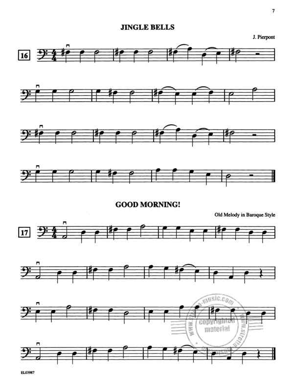 Samuel Applebaum: String Tunes - A Very Beginning Solo Or Unison Songbook (3)