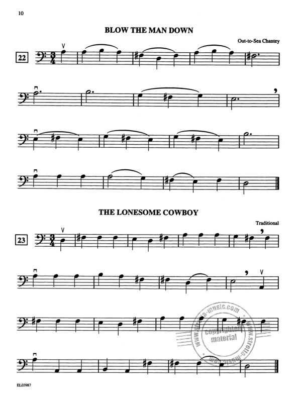 Samuel Applebaum: String Tunes - A Very Beginning Solo Or Unison Songbook (4)