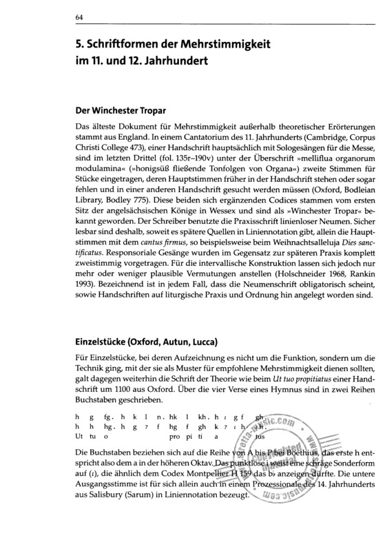 Manfred Hermann Schmid: Notationskunde (7)