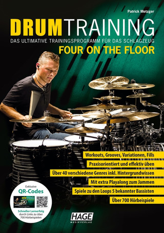 Patrick Metzger: Drum Training Four on the Floor