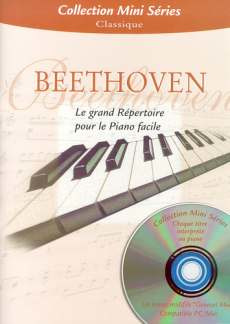 Ludwig van Beethoven: Mini Series Beethoven Le Grand Repertoire Piano Collection Bk/Cd-Rom
