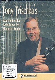 Trischka Tony: Trischka, T Essential Practice Techniques For Bluegrass Banjo Dvd