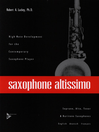 Robert Luckey: saxophone altissimo