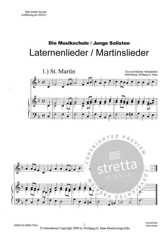 st martinslieder