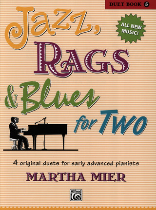 Martha Mier: Jazz Rags & Blues for Two 5