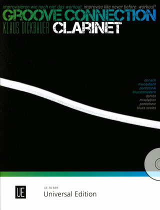 Klaus Dickbauer: Groove Connection 2 – Clarinet