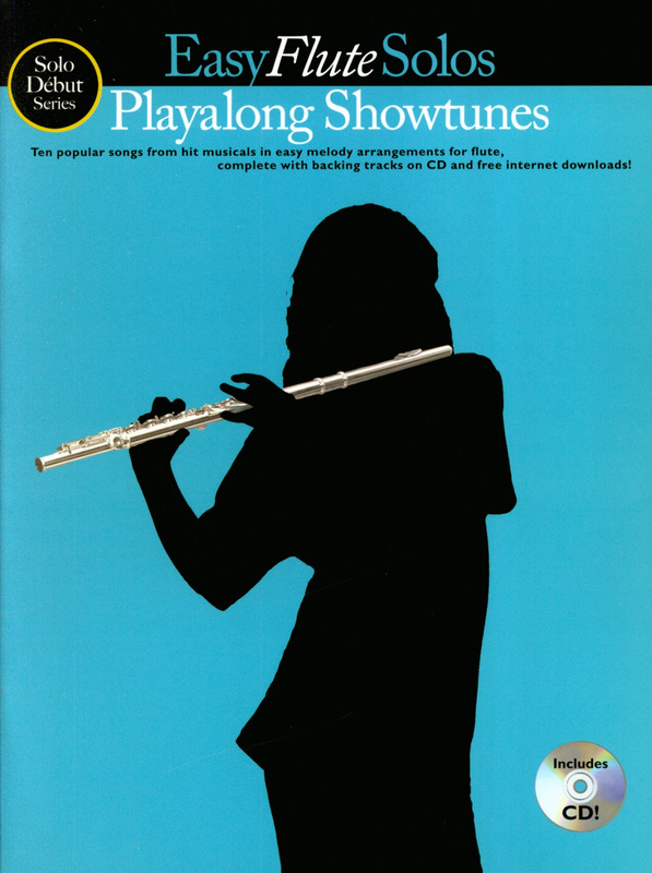 Solo Debut: Playalong Showtunes - Easy Flute Solos Flt Book/Cd
