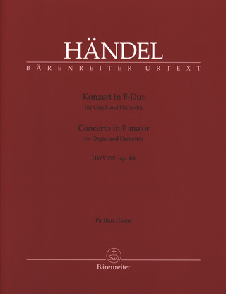 George Frideric Handel: Concerto in F Major op. 4/4 HWV 292
