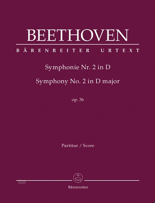 Ludwig van Beethoven: Symphony no. 2 in D major op. 36