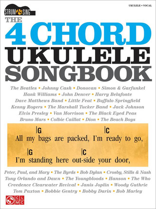 The 4 Chord Ukulele Songbook