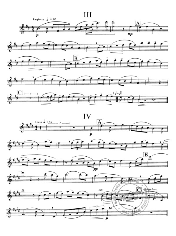 Ralph Vaughan Williams: Six Studies in English Folk Song (1)