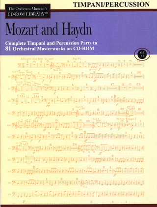 Joseph Haydn et al.: Mozart and Haydn - Timpani and Percussion Parts