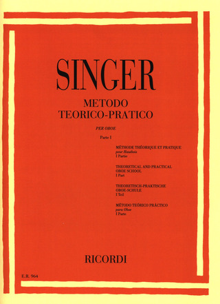 Sigismondo Singer: Theoretical and Practical Oboe School 1