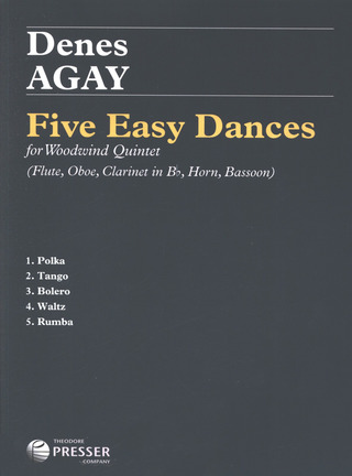 Dénes Ágay: 5 Easy Dances