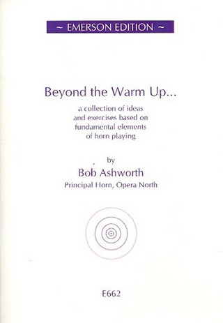 Bob Ashworth: Beyond the Warm up
