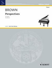 Brown Earle: Perspectives for Piano (1952)