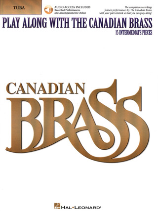 Canadian Brass: Play Along With 15 Intermediate Solos