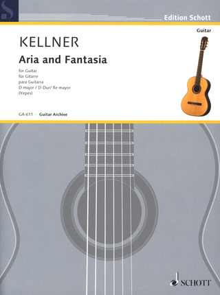 Kellner David: Aria and Fantasia D-Dur