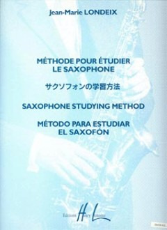 Jean-Marie Londeix: Saxophone Studying Method