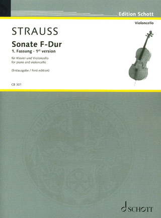 Richard Strauss: Sonate F-Dur