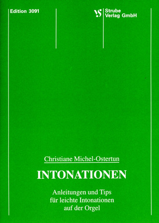 Christiane Michel-Ostertun: Intonationen
