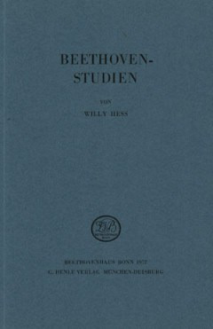 Willy Hess: Beethoven-Studien (1972)
