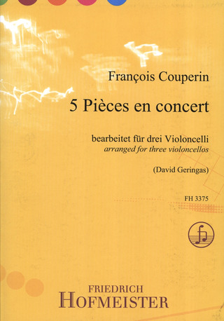 François Couperin: 5 Pieces en concert