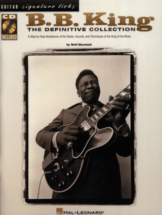 B.B. King: King, Bb Definitive Collection Guitar Signature Licks Bk/Cd