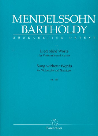 Felix Mendelssohn Bartholdy: Song without Words op. 109