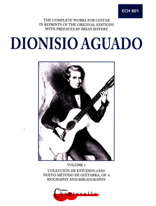 Dionisio Aguado: Complete Guitar Works 1