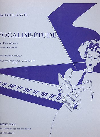 Maurice Ravel: Vocalise Etude Nr. 020 (Piece En
