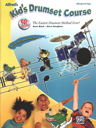 Dave Black et al.: Kid's Drumset Course (Beginning)