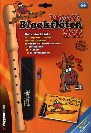Voggy's Blockflöten-Set