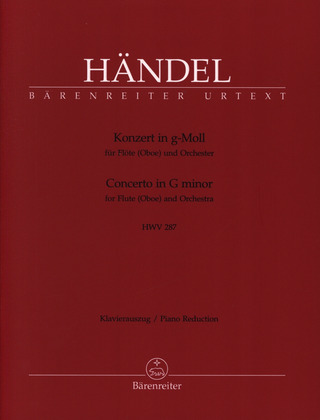 George Frideric Handel: Concerto in G minor HWV 287