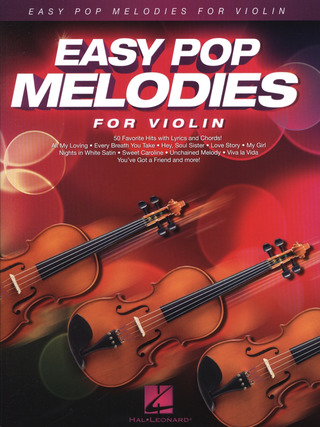 Easy Pop Melodies – for Violin