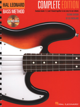 Ed Friedland: Hal Leonard Bass Method Complete Edition Second Ed Bk/3Cd
