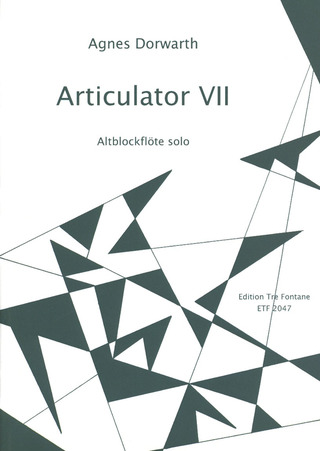 Agnes Dorwarth: Articulator VII