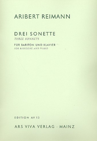 Aribert Reimann: Drei Sonette von William Shakespeare (1964)