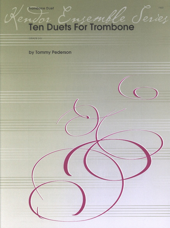 Pederson Tommy: 10 Duets For Trombone